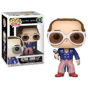 Funko Pop Rocks Elton John Red, White & Blue