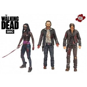 The Walking Dead (TV Series) Heroes 3-Pack Deluxe Box Set