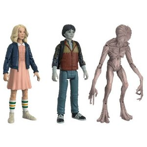 Stranger Things 3.75 Action Figure Three Pack NYCC 2017