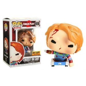 Funko Pop Movies Child's Play 2 Chucky On Cart Hot Topic Exclusive