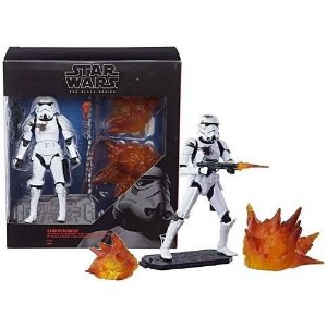 Star Wars The Black Series 6 Stormtrooper with Blast Accessories