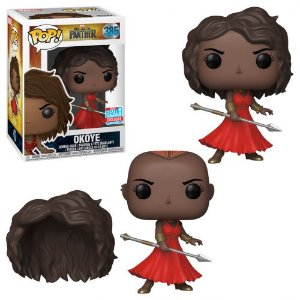 Funko Pop  Okoye in Red Dress Pop! Vinyl Figure! NYCC 2018