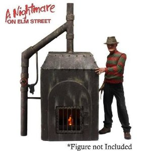 NECA Nightmare on Elm Street Freddy's Furnace Diorama