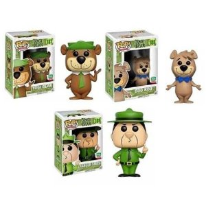 Funko Pop Animation Yogi Bear: Yogi Bear, Boo Boo & Ranger Smith Funko Shop Exclusive 5000 Limited Edition