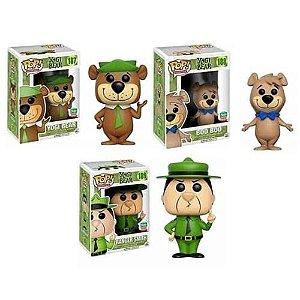 Funko Pop Animation Yogi Bear: Yogi Bear, Boo Boo & Ranger Smith Funko Shop Exclusive 5000 Limited Edition