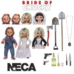 Neca Bride of Chucky Ultimate Chucky & Tiffany Two-Pack