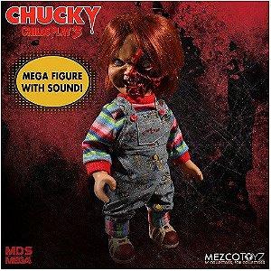 Mezco Toyz Child's Play 3 Designer Series Talking Pizza Face Chucky