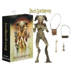 NECA Pan's Labyrinth Guillermo del Toro Signature Collection Faun