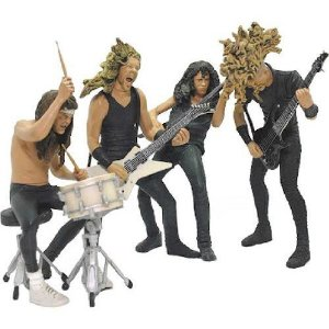 McFarlane Toys Metallica Harvesters of Sorrow Action Figures Set of 4