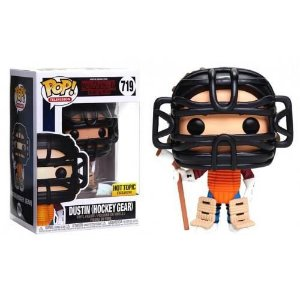 Funko Pop! Stranger Things Dustin (Hockey Gear) Hot Topic Exclusive