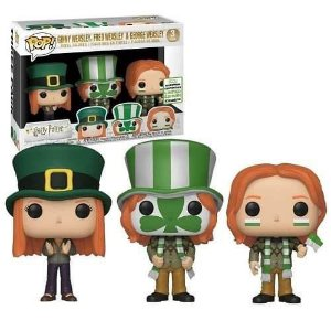 Funko Pop Harry Potter: Fred, George, & Ginny Weasley ECCC 2019 Exclusive