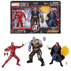 Marvel Legends Series - Marvel Studios: The First Ten Years Avengers: Infinity War Figure 3-Pack