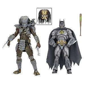 "NECA SDCC 2019 - DC Comics/Dark Horse Comics - 7"" Scale Action Figures – Batman vs Predator 2-Pack"