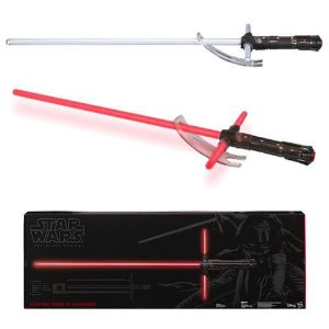 Star Wars The Black Series Kylo Ren (The Force Awakens) Force FX Deluxe Lightsaber
