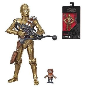 Star Wars The Black Series 6 C-3PO & Babu Frik Target Exclusivo