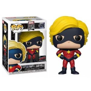 Funko Pop Marvel 80 Years Captain Marvel (Mar-Vell) First Appearance NYCC 2019 Exclusivo