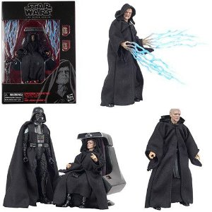 Star Wars The Black Series 6 Emperor Palpatine with Throne Return of The Jedi Amazon Exclusivo