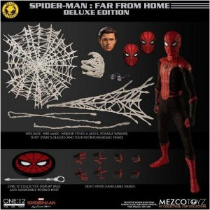 Mezco One:12 Marvel Spider-Man: Far From Home - Deluxe Edition