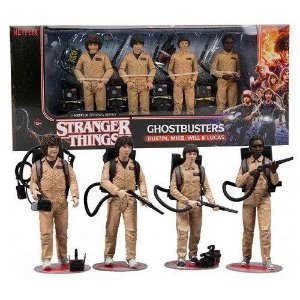 McFarlane Stranger Things Ghostbusters Deluxe Box 4-Pack