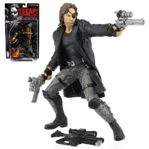 "McFarlane Toys Movie Maniacs 3 ""Escape from L.A. Snake Plissken Figure"