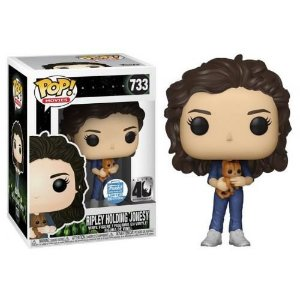 Funko Pop! Movies Alien 40th Ripley Holding Jonesy Funko Shop Exclusive