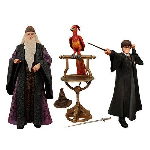 NECA Harry Potter Year 2 Professor Dumbledore & Harry Potter Box Set