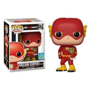 Funko Pop The Big Bang Theory Sheldon Cooper as The Flash SDCC 2019