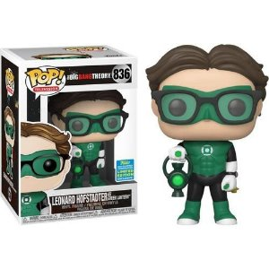 Funko Pop The Big Bang Theory Leonard Hofstadter as Green Lantern SDCC 2019