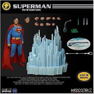Mezco One:12 Collective Superman 1978 Edition