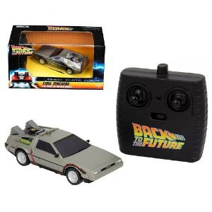 NECA Back to the Future RC Vehicle DeLorean 1/32 Time Machine Target Exclusive