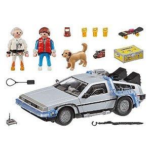 Playmobil Back to the Future DeLorean Time Machine Set