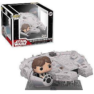 Funko Pop Deluxe: Star Wars - Millennium Falcon with Han Solo (Amazon Exclusive)