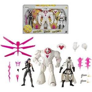 Marvel Legends Series X-Men Psylocke, Marvel's Nimrod, and Fantomex Toys (Amazon Exclusive)