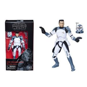 Star Wars The Black Series 6 Clone Commander Wolffe (The Clone Wars)