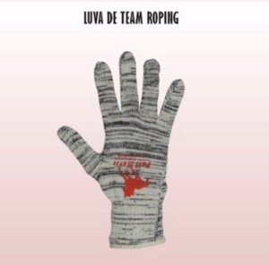 Luva de team roping.