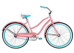 "BICICLETA VINTAGE RETRÔ HUFFY FEMININA ARO 26"" GOOD VIBRATIONS"