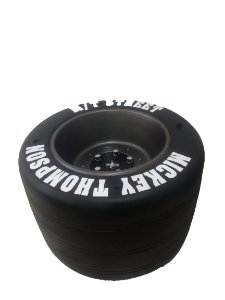 Mesa de centro pneu corrida Mickey thompson