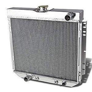 Radiador em alumínio Ford Maverick V8 - 3 colmeias