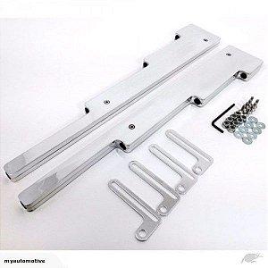 Régua em alumínio para cabos de vela até 9.5mm