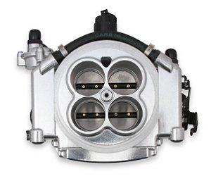 Kit EFI injeção eletrônica Holley Sniper Completo p/ até 650HP Alumínio Polido