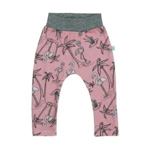 Calça BioBaby Bebê Flamingo