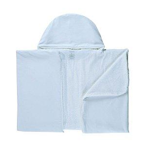 Toalha de Banho Abraço BioBaby Bebê Branco