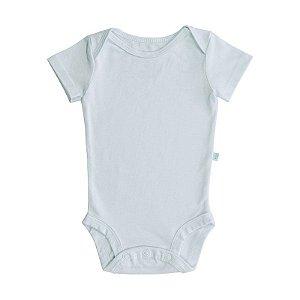 Body BioBaby Bebê Manga Curta Branco