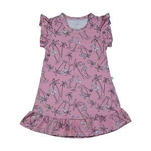 Vestido BioBaby Kids Flamingo