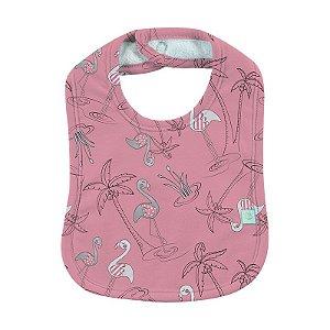 Babador BioBaby Bebê Flamingo