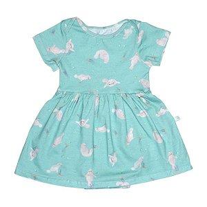 Vestido BioBaby Bebê Peixe-Boi