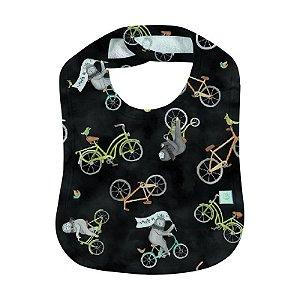 Babador BioBaby Bebê Vamos de Bike?