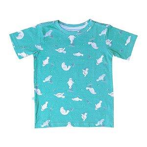 Camiseta BioBaby Kids Peixe-Boi