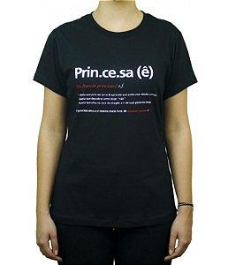 Camiseta Verbete Princesa