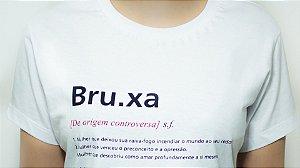 Camiseta Branca Verbete Bruxa